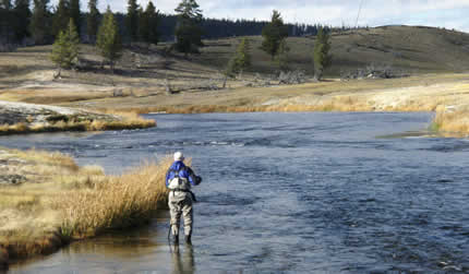 Fly Angler Casts on A Western Stream But Do You have the wrong fly rod at www.flyfisher.com