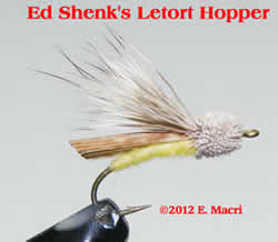 Letort Hopper from Ed Shenk's Letort Hopper at www.flyfisher.com