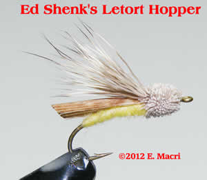 Ed Shenk's Letort Hopper: Flies, Techniques and Methods by Gene Macri at www.flyfisher.com