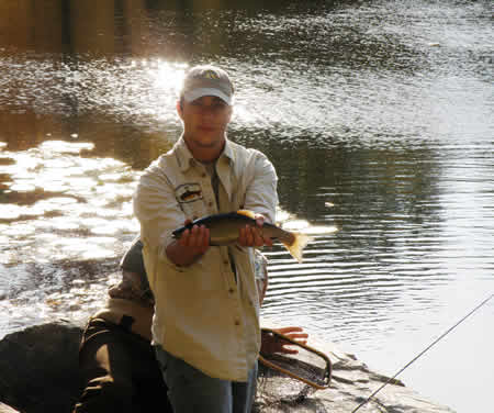 conewago fly fishers healing waters trout www.flyfisher.com