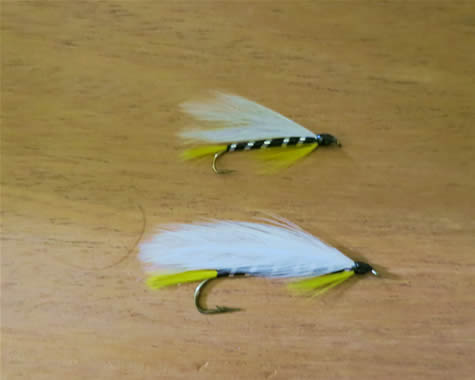 The Black Ghost From the The Muddler Minnow and The Black Ghost: Two Flies Fly Fishermen Seldom Use at www.flyfisher.com